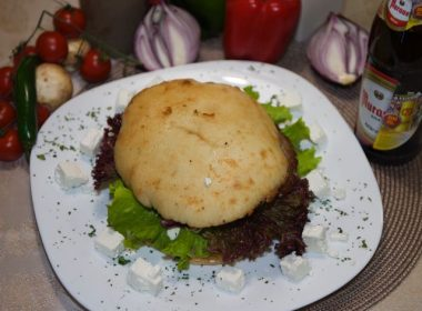 Cheese Pljeskavica