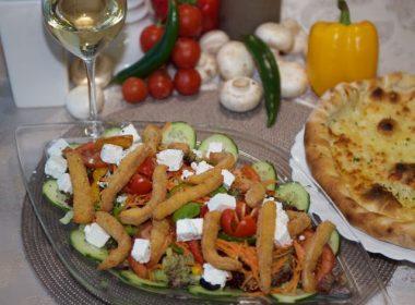 Pizzarella Plus Salat